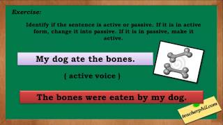 Active and Passive English Grammar