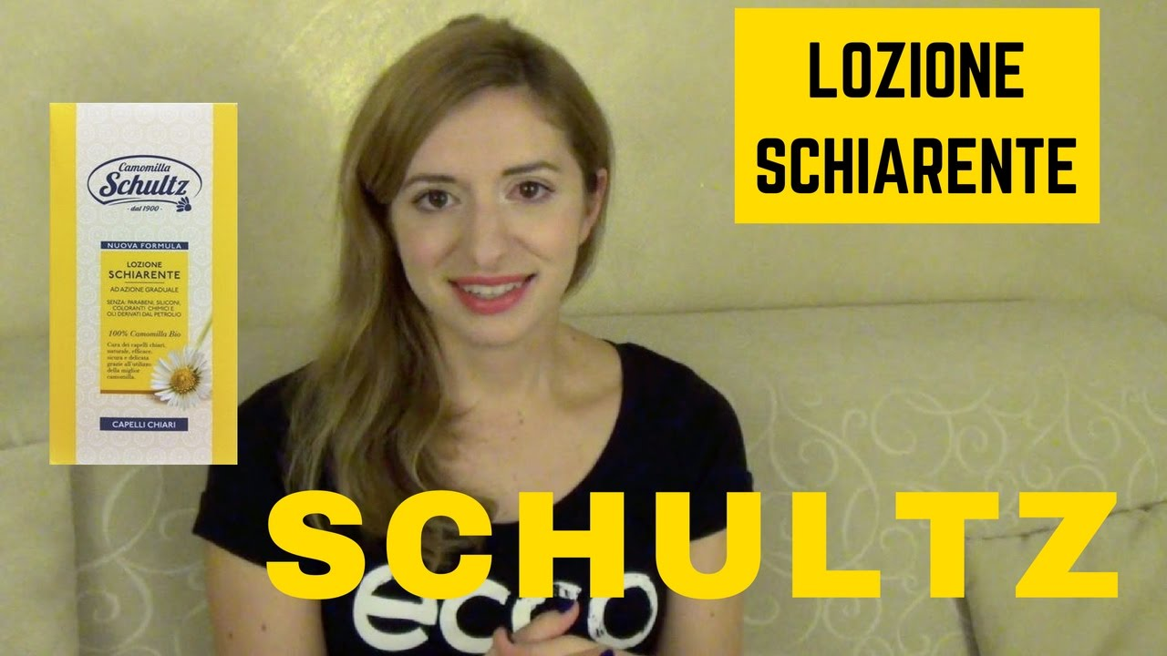 Capelli Biondi Senza Tinta Lozione Schultz