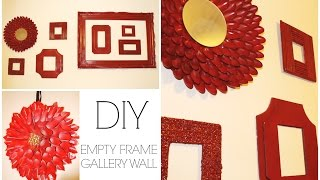 Gallery Wall With Diy Frames ♡ {room Decor} ♡ Jessica Joaquin