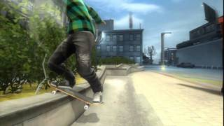 Shaun White Skateboarding Gameplay Footage