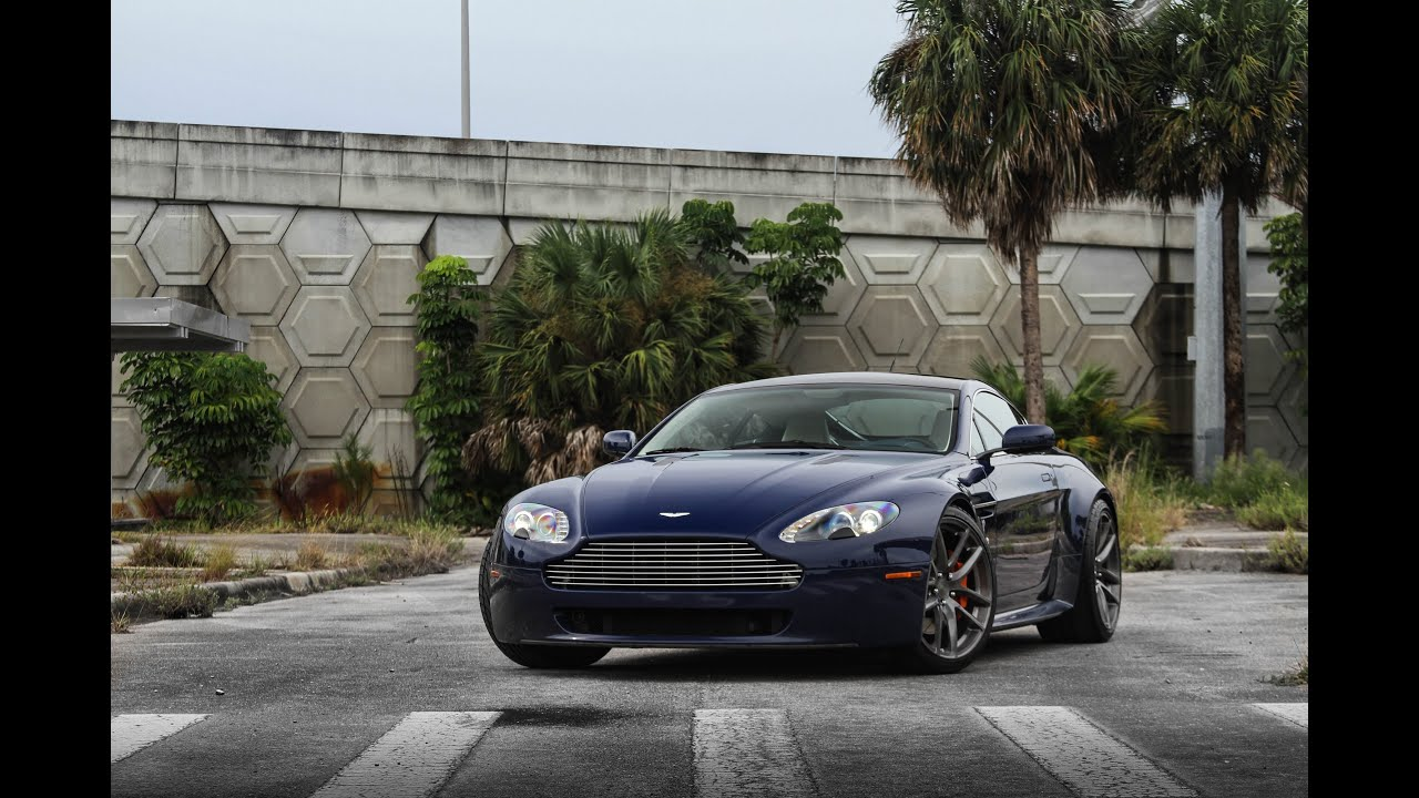 Secret Entourage Aston Martin Vantage Highly Modified