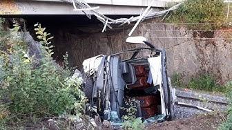 Neljän ihmisen kuolemaan johtanut linja-auto-onnettomuus Kuopiossa 24.8.2018