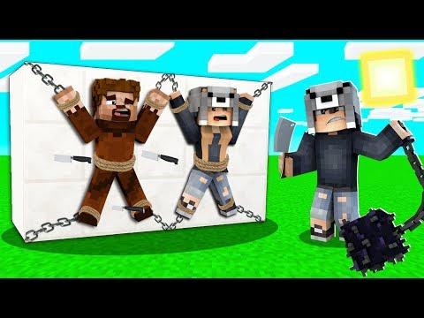 AİLEME 24 SAAT İŞKENCE YAPTIM! 😱 - Minecraft