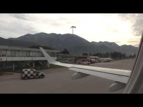 DAR on-board 4K - Flight from Montenegro