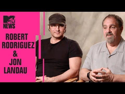 Robert Rodriguez & Jon Landau on 'Alita: Battle Angel' | CinemaCon | MTV News