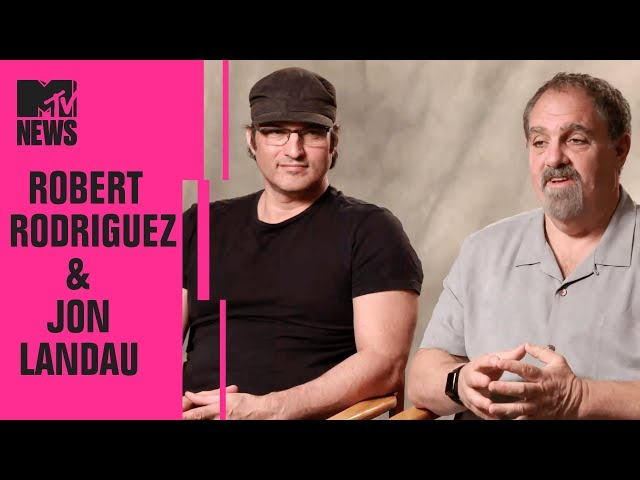 Robert Rodriguez & Jon Landau on 'Alita: Battle Angel' | CinemaCon | MTV News