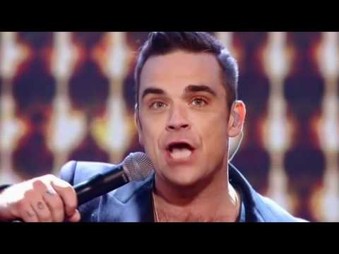 One Direction and Robbie Williams sing She's The One - The X Factor Live Final (Full Version)