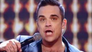 One Direction and Robbie Williams sing She