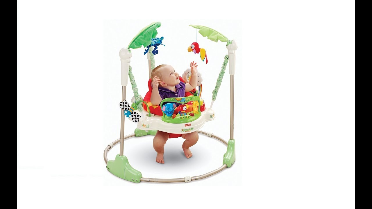 c361e476b Fisher-Price Rainforest Jumperoo Review