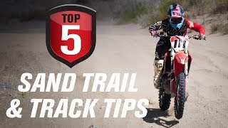 Top 5 Dirt Bike Sand Trail and Track Tips