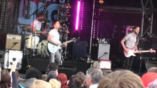 The Hoosiers Worried About Ray - LIVE Danson Festival 8th July 2012 HD