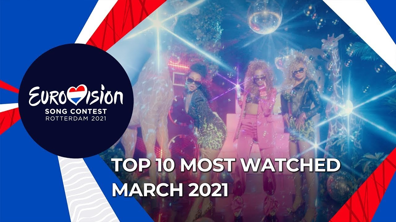 TOP 10: Most watched in March 2021 - Eurovision Song Contest