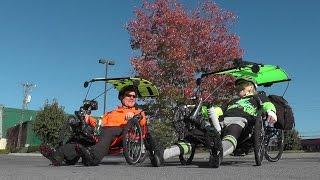Recumbent Trike Tour, Pigeon Forge, TN 2014-10-23 Catrike, ActionBent