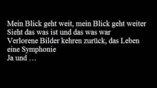 Heimatmelodie - Auletta (with lyrics on screen)