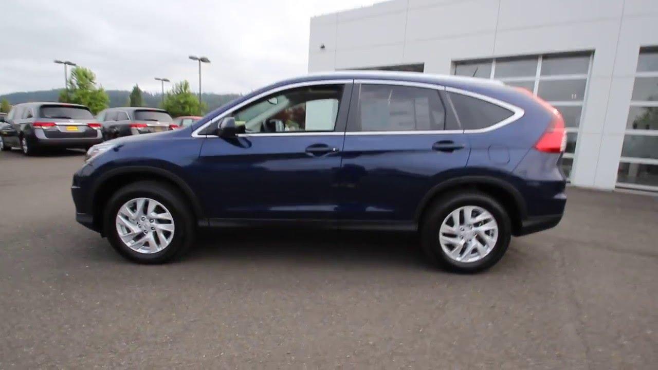 2016 Honda CR-V EX-L w/Navigation | Obsidian Blue Pearl | GH645202 | Sumner | Seattle | Puyallup ...