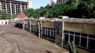 Flood in Tbilisi, Georgia. Наводнение в Тбилиси.