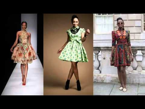 African Modern Fashion Wear And Cloths | Short African Trendy Dresses Pics Collection Romance
