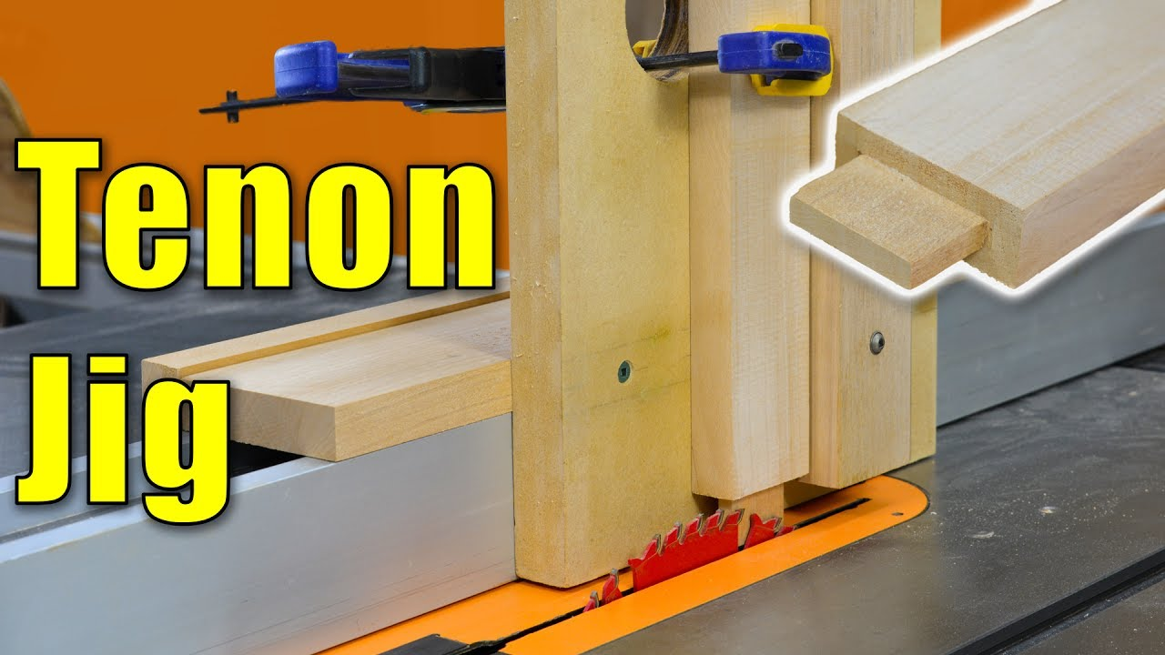Diy Mortise And Tenon Jig For A Router
