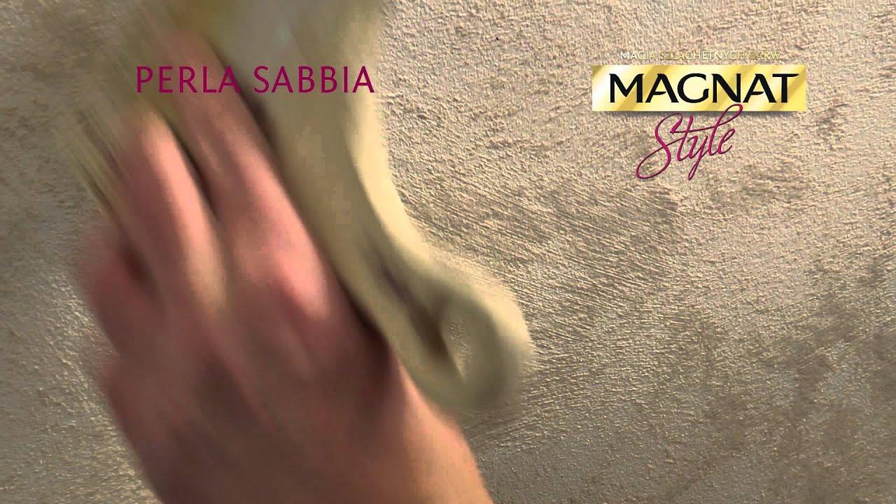 Efekt Perłowego Piasku Na ścianie Perla Sabbia Magnat Style Film Instruktażowy