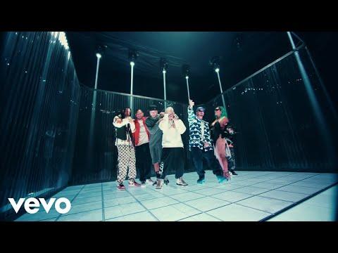Смотреть клип J Balvin, Karol G, Nicky Jam Ft. Crissin, Totoy El Frio, Natan & Shander - Poblado | Remix