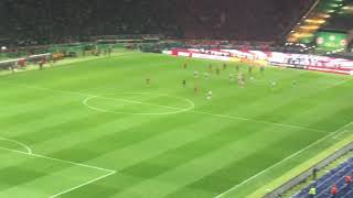 FC Bayern München vs. Eintracht Frankfurt 1:3 (DFB-Pokal Finale) - Mijat Gacinovic Tor zum 1:3