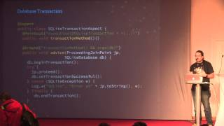 Aspect Oriented Programming: add magic to your code and remove Boilerplate - Xavier Gouchet, Deezer