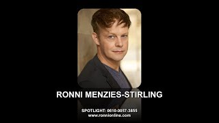Ronni Menzies-Stirling - Showreel 2019