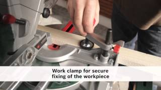 PCM 7 S Mitre saw with slide function
