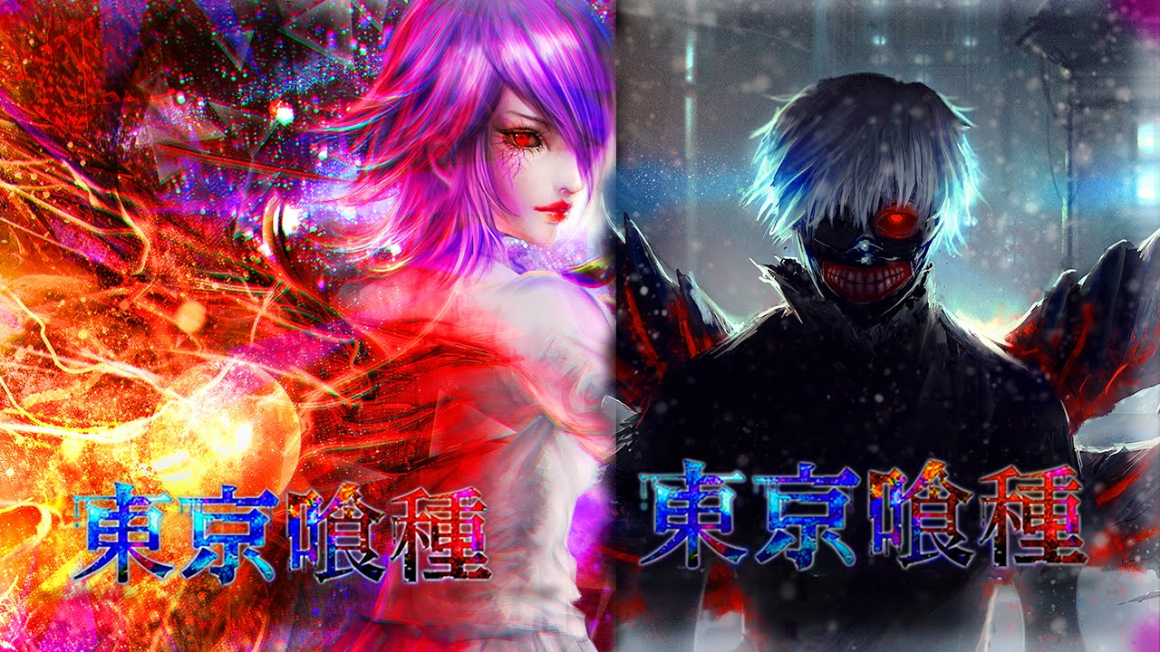 Free Anime Wallpapers Tokyo Ghoul Kaneki Touka 15 Likes