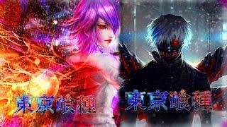 Free Anime Wallpapers: Tokyo Ghoul (Kaneki & Touka) | 15 Likes!?