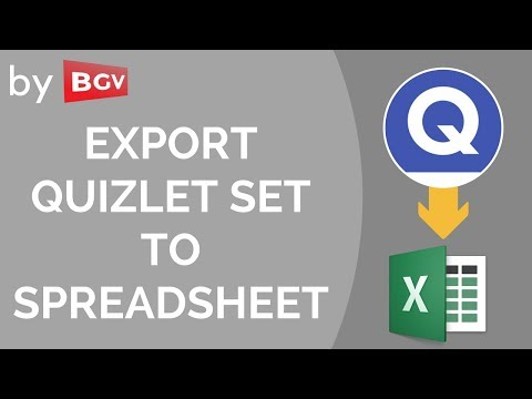 Export a Quizlet set to a spreadsheet (BhargavGV)