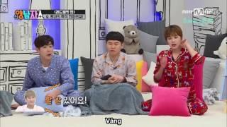 [VIETSUB] 170203 BTOB Eunkwang gọi điện cho Red Velvet Seulgi trên Yang & Nam Show