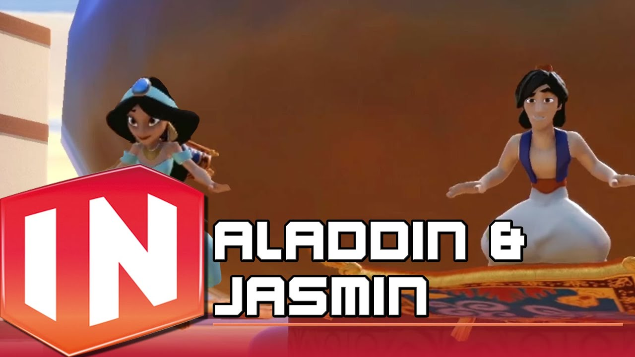 Disney Infinity 20 Aladdin und Jasmin Trailer  Disney HD  YouTube
