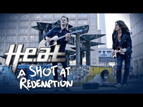 H.e.a.t 'A Shot At Redemption' Live and Acoustic in Berlin - Street Performance Video Part 1