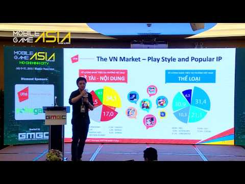 VNG: Mobile Game Publishing Through The Zalo Game Center - Mobile Game Asia 2015 Ho Chi Minh City