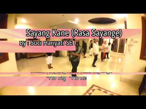 Sayang Kane (Rasa Sayange) line dance by Suci Hariyati . Short Demo by RnF Line Dance
