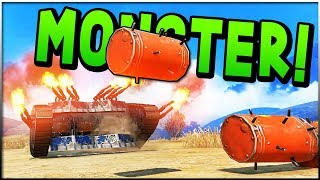 Crossout - This Thing Is a MONSTER! (Crosout Gameplay)