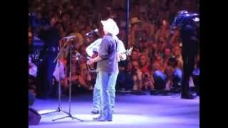 George Strait & Alan Jackson - Final Concert AT&T Stadium (6-7-14)