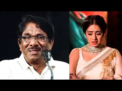 """Sridevi Cried""- Bharathiraja Reveals The Reason | TK 899"