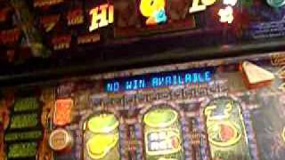 Fruit Machine-Red Gaming Indiana Jones Kingdom of the Crystal Skull £5 pt 1