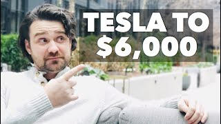 ARK is predicting Tesla Stock Price (TSLA) to reach $6000 📈…