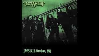 All I Could Bleed - Testament Live Boston 1995
