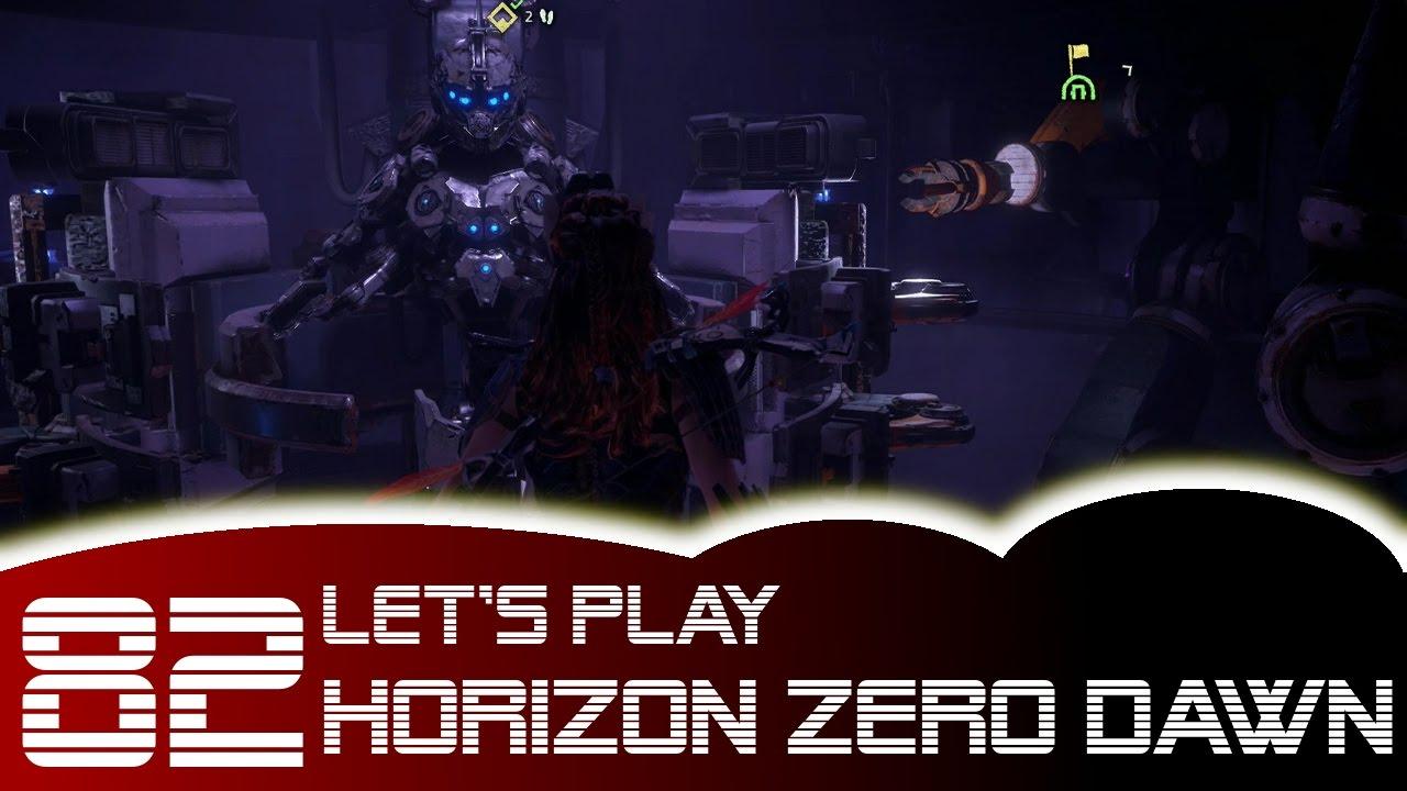 Horizon Zero Dawn Karte Energiezellen.Let S Play Horizon Zero Dawn 82 Altes Waffenlager Alle Energiezellen