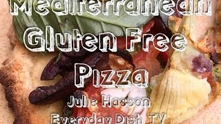 Mediterranean Pesto Pizza Gluten Free