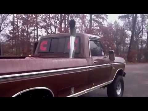 1975 Ford Highboy Cummins Turbo Diesel Youtube