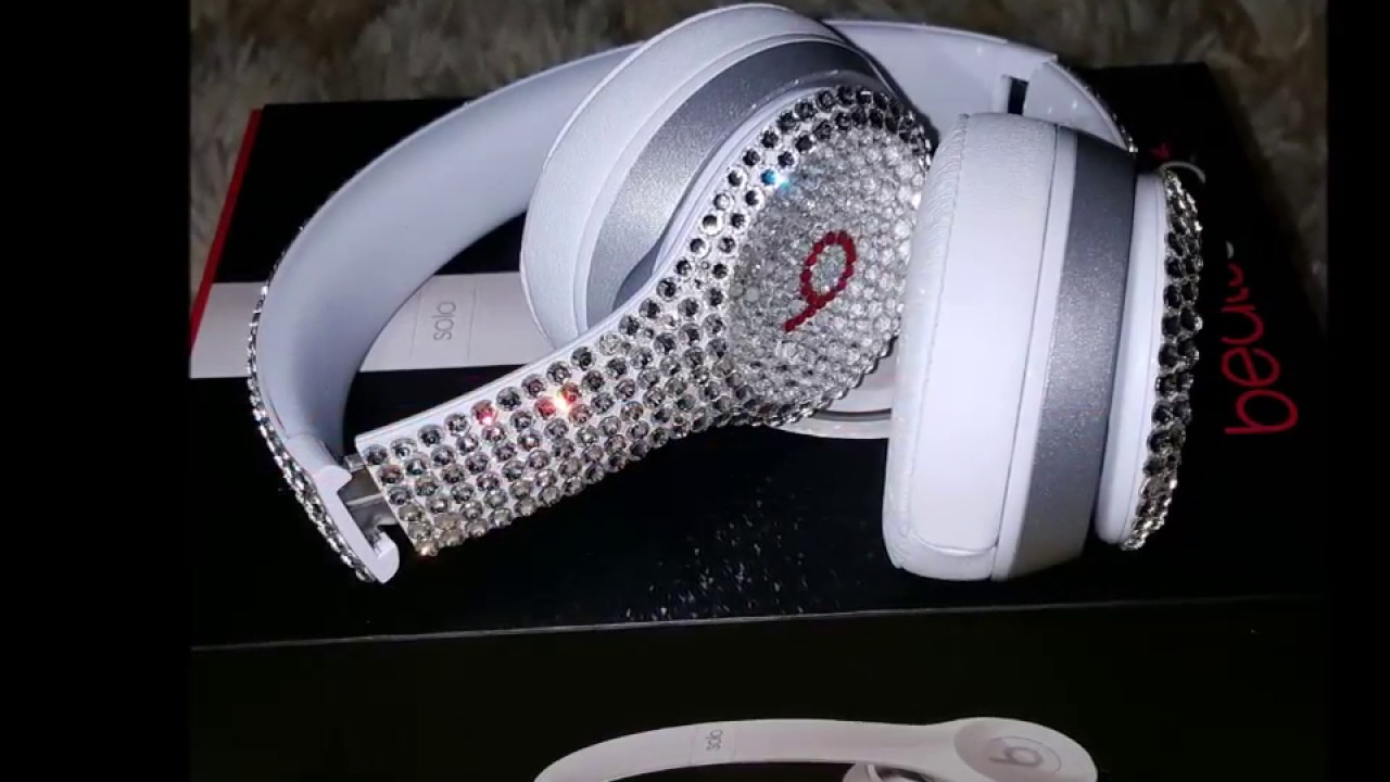 Customised Swarovski Crystal Beats By Dre Headphones by Truly Exquisite b5a7794f51b1