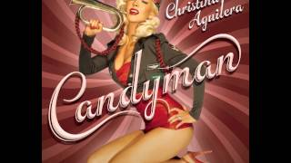 Christina Aguilera - Candyman Official Backing Track