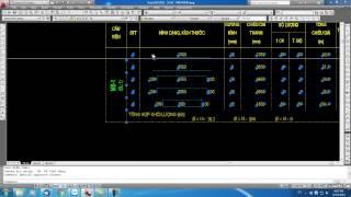 KCS SFD - Cập nhật phần mềm vẽ và thống kê cốt thép móng băng