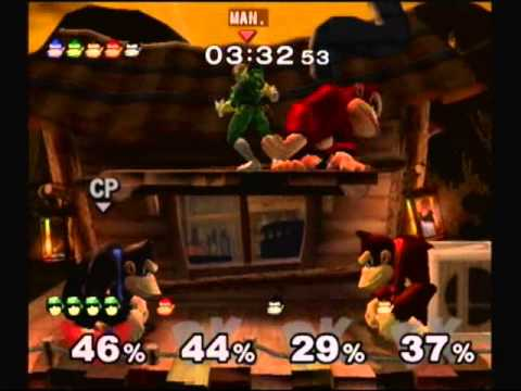 Let's Casual Play Super Smash Bros. Melee Classic Hard Mode