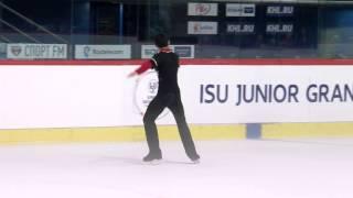 2015 ISU Junior Grand Prix - Zagreb Men Short Program Armen AGAIAN GEO